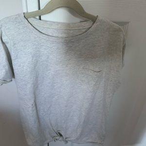 J Crew grey shirt